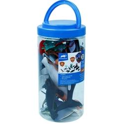 Vardem Oyuncak - Vardem Oyuncak Okyanus Hayvanları Seti Figürü 13 Parça -23 Cm Kovada