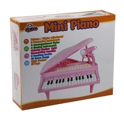 Vardem Oyuncak Ortaboy Piyano Işıklı 3 Asorti (Pembe,Siyah,Beyaz) - Thumbnail