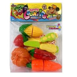 Vardem Oyuncak - Vardem Oyuncak Yummy Cooking Meyve Sebze Kesme Oyunu 8 Parça