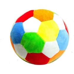 Vardem Oyuncak - Vardem Renkli Peluş Top Çıngıraklı 20 cm