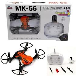 Vardem Oyuncak - Vardem Uzaktan Kumandalı Katlanabilen 2.4 Ghz 6 Axis Wifi Cameralı Drone Mk-56