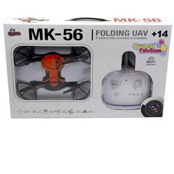 Vardem Uzaktan Kumandalı Katlanabilen 2.4 Ghz 6 Axis Wifi Cameralı Drone Mk-56 - Thumbnail