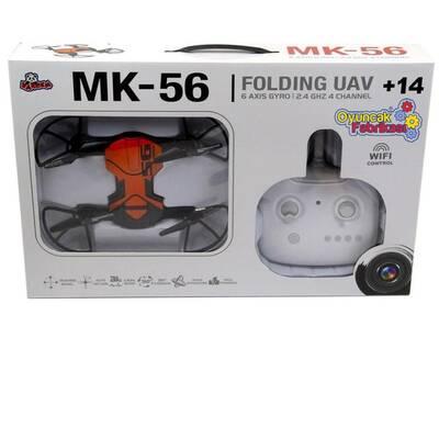 Vardem Uzaktan Kumandalı Katlanabilen 2.4 Ghz 6 Axis Wifi Cameralı Drone Mk-56