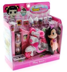 MEGA - Vespalı Dondurmacı Kız Oyun Seti