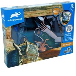 Vardem Oyuncak - Wenno Oyuncak Okyanus Hayvan Seti 15 Parça Mobil Uygulamalı