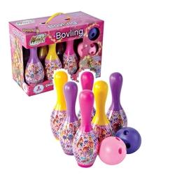 Furkan Toys - Winx Kutulu Oyuncak Bowling Oyun Seti 8 Parça Set Lisanslı