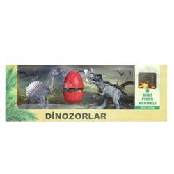 MEGA - Yumurtalı Dinozor 2'li Set Spinosaurus / T-Rex