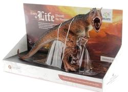 MEGA - Yumuşak Plastik Boynuzlu Dinozor Figür