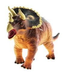 MEGA - Yumuşak Plastik Dinozor Figür - Triceratops