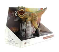 MEGA - Yumuşak Plastik Kahverengi Dinozor Figür T-Rex