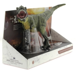 MEGA - Yumuşak Plastik Yeşil Dinozor Figür T-Rex