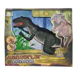 Sunman - Yürüyen Sesli ve Işıklı Büyük Oyuncak Dinozor 55 Cm