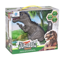 Can-em Oyuncak - Yürüyen Titreyen Büyük Oyuncak Dinazor Tyrannosaurus Rex Sesli Işıklı 45 Cm