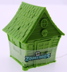ZOMLINGS - Zomlings İkili Figür Ve Yeşil Ev Seri 1 P00971